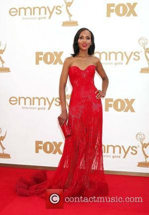 Kerry Washington and Emmy Awards