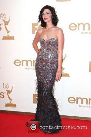 Jessica Pare  The 63rd Primetime Emmy Awards held at the Nokia Theater LA LIVE - Arrivals Los Angeles, California...