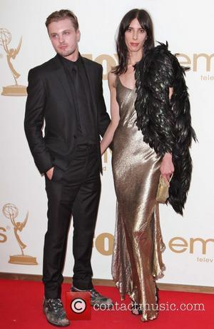 Michael Pitt and Jamie Bochert  The 63rd Primetime Emmy Awards held at the Nokia Theater LA LIVE - Arrivals...