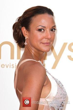 Eva LaRue  The 63rd Primetime Emmy Awards, held at Nokia Theatre L.A. LIVE - Arrivals Los Angeles, California -...
