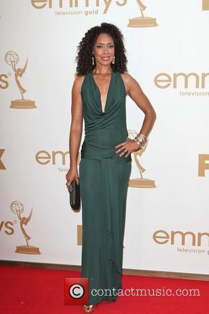Gina Torres  The 63rd Primetime Emmy Awards, held at Nokia Theatre L.A. LIVE - Arrivals Los Angeles, California -...