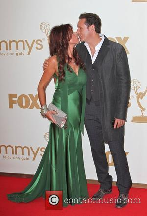 Roma Downey and Mark Burnett  The 63rd Primetime Emmy Awards held at the Nokia Theater - Arrivals Los Angeles,...