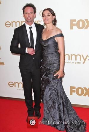 Walton Goggins and Nadia Conners  The 63rd Primetime Emmy Awards held at the Nokia Theater - Arrivals Los Angeles,...