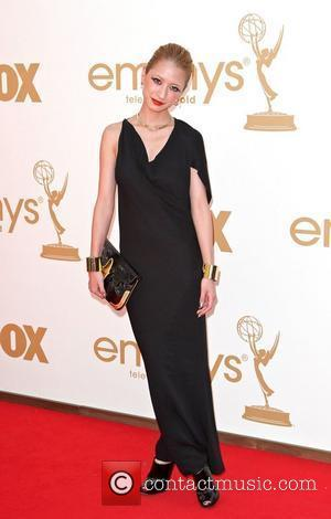 Vanessa Lengies,  at the 63rd Primetime Emmy Awards, held at Nokia Theatre L.A. LIVE - Arrivals Los Angeles, California...