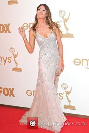 Jennifer Carpenter,  at the 63rd Primetime Emmy Awards, held at Nokia Theatre L.A. LIVE - Arrivals Los Angeles, California...