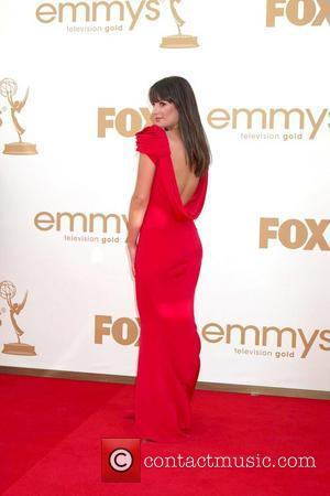Lea Michele and Emmy Awards