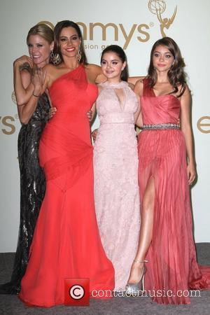 Julie Bowen, Ariel Winter, Sarah Hyland, Sofia Vergara and Emmy Awards