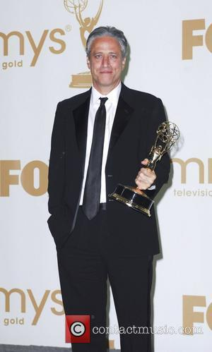 Jon Stewart  The 63rd Primetime Emmy Awards held at the Nokia Theater LA LIVE - Press Room Los Angeles,...