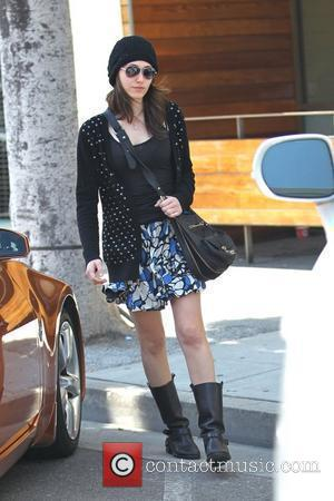 Emmy Rossum  out and about in Beverly Hills Los Angeles, California - 11.04.11