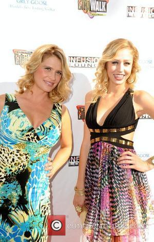 Kristy Swanson and Amanda Swanson 100 Starz Emmy Viewing Party & Gifting Suite at Infusion Lounge in Universal City Los...