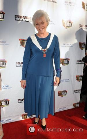Lee Meriwether 100 Starz Emmy Viewing Party & Gifting Suite at Infusion Lounge in Universal City Los Angeles, California -...