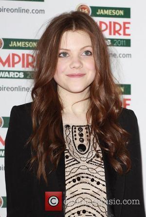 Georgie Henley The Empire Film Awards 2011 - Arrivals at Grosvenor House London, England - 27.03.11