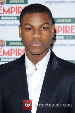 John Boyega The 2011 Jameson Empire film Awards held at Grosvenor House - Arrivals. London, England - 27.03.11