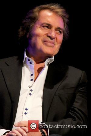 Engelbert Humperdinck singer honoured with a celebrity star on the 'Las Vegas Walk Of Stars', held at the Paris Las...