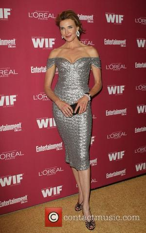 Brenda Strong The 2011 Entertainment Weekly And Women In Film Pre-Emmy Party Sponsored By L'Oreal held at BOA Steakhouse West...