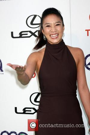 Michelle Kwan The 2011 Environmental Media Awards held at the Warner Brothers Studio - Arrivals Beverly Hills, California - 15.10.11