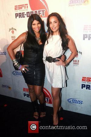 Pepa of Salt-N-Pepa and Joumana Kidd  ESPN magazine's '8th Annual Pre-Draft Party' held at ESPACE - Arrivals  New...