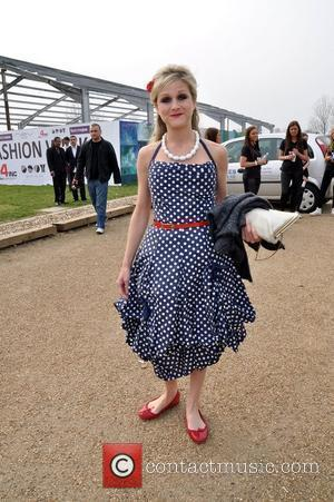Nikki Grahame VIP day at Essex Fashion Week at Lakewell Marquee, Chigwell - Arrivals Essex, England - 26.03.11