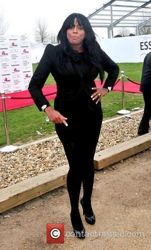 Mica Paris VIP day at Essex Fashion Week at Lakewell Marquee, Chigwell - Arrivals Essex, England - 26.03.11