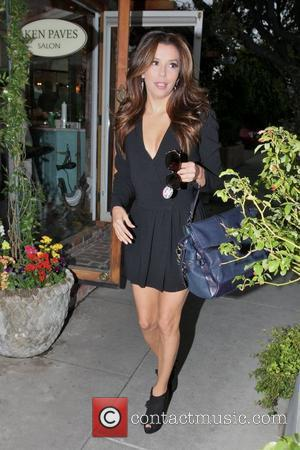 Eva Longoria, Ken Paves and Ken Paves Hair Salon