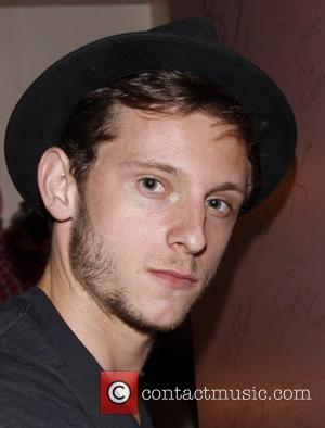 Jamie Bell Backstage at the Broadway musical production of 'Spider-Man Turn Off The Dark' at the Foxwoods Theatre New York...