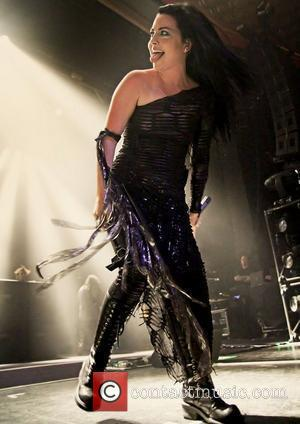 Amy Lee of Evanescence performs live at Manchester Apollo Manchester, England - 07.11.11