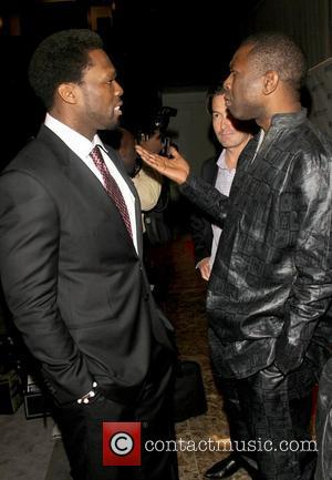 50 Cent, real name Curtis Jackson, and Youssou N'Dour  Every Woman Every Child MDG Reception at the Grand Hyatt...