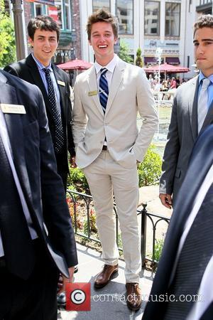 Patrick Schwarzenegger in good spirits as he's spotted at The Grove Los Angeles, California - 12.07.11