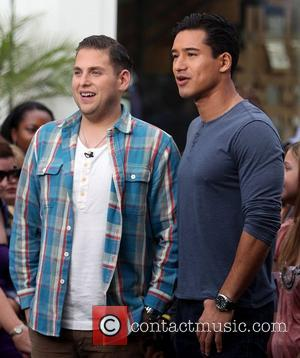 Jonah Hill and Mario Lopez