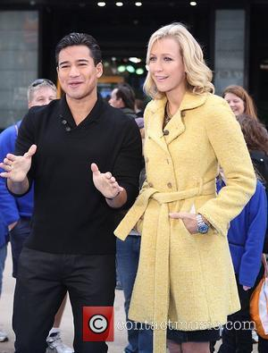 Mario Lopez, Lara Spencer and Times Square