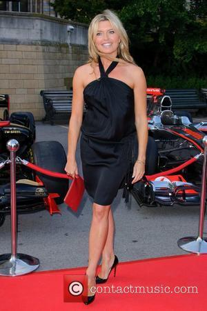 Tina Hobley The F1 Party held at the Natural History Museum - Arrivals  London, England - 06.07.11