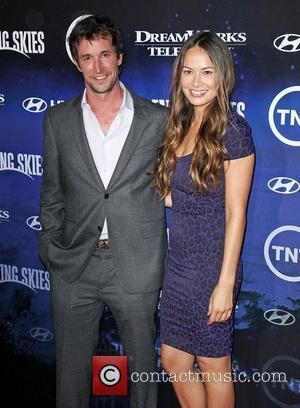 Noah Wyle and Moon Bloodgood The Premiere of TNT And Dreamworks' 'Falling Skies' - Arrivals West Hollywood, California - 13.06.11