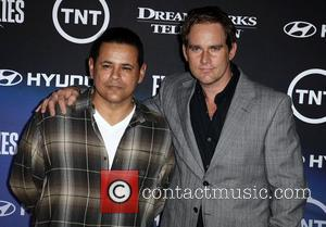Raymond Cruz and Phillip P. Keene The Premiere of TNT And Dreamworks' 'Falling Skies' - Arrivals West Hollywood, California -...