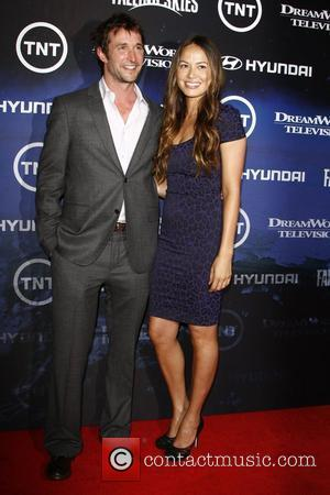 Noah Wyle, Moon Bloodgood  The Premiere of TNT And Dreamworks' 'Falling Skies' - Arrivals  West Hollywood, California -...