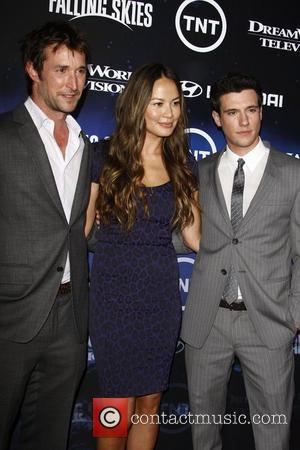 Noah Wyle, Drew Roy and Moon Bloodgood