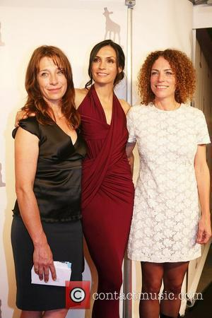 Famke Janssen with her sisters, film director Antoinette Beumer and actress Marjolein Beumer  Famke Janssen presents a talk about...