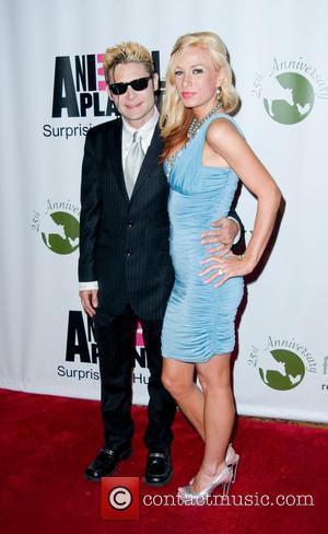 Corey Feldman and Jessica Steward Farm Sanctuary's 25th Anniversary Gala at Cipriani Wall Street - Arrivals New York City, USA...