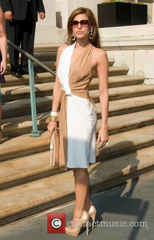 Eva Mendes  Ferragamo presentation for their Resort 2012 collection at the James B. Duke Mansion New York City, USA...