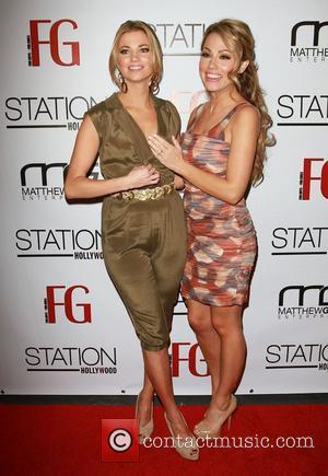 Amber Lancaster and Jessica Hall Jessica Hall hosts the launch of FG Magazine's February issue launch held The W Hollywood...