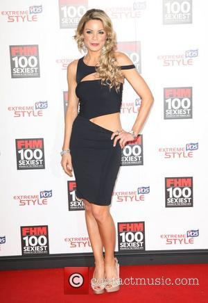 Georgie Thompson FHM 100 Sexiest Women In The World 2011 launch party at One Marylebone London, England - 04.05.11