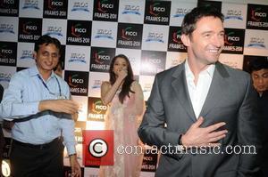 Gues, Aishwarya Rai Bachchan and Hugh Jackman  attends the final day of FICCI-Frames 2011 seminar at Renaissance  Mumbai,...