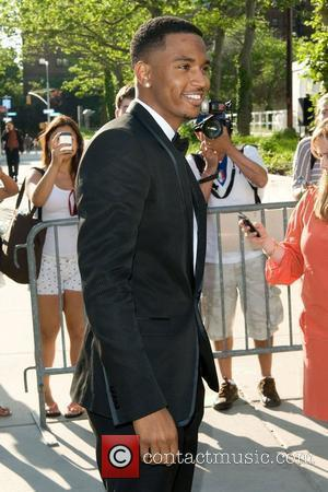 Trey Songz 2011 FiFi Awards at The Tent at Lincoln Center - Arrivals New York City, USA - 25.05.11