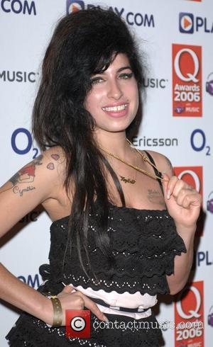 Amy Winehouse The Q Awards 2006 held at The Grosvenor House hotel - press room London, England - 30.10.06