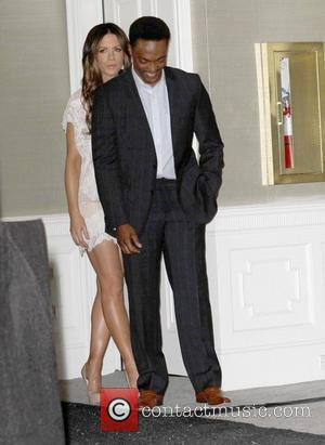 Anthony Mackie and Kate Beckinsale  Piaget at the 2012 Film Independent Spirit Awards Nominations Press Conference at The London...