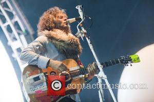Wayne Coyne of The Flaming Lips performing at 'Live from Jodrell Bank'  Lower Withington, Cheshire - 02.07.11