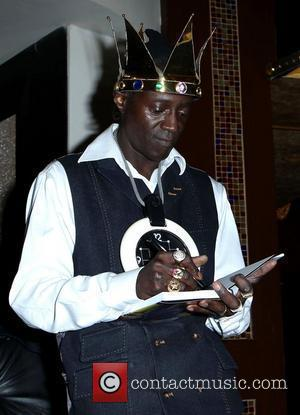 Flavor Flav signs copies of his new book 'Flavor Flav: The Icon The Memoir' at The Hilton Hotel and Casino...