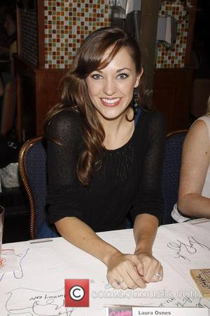 Laura Osnes and Times Square