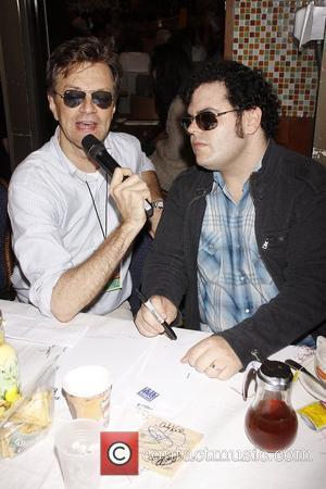 Jim Caruso, Josh Gad and Times Square