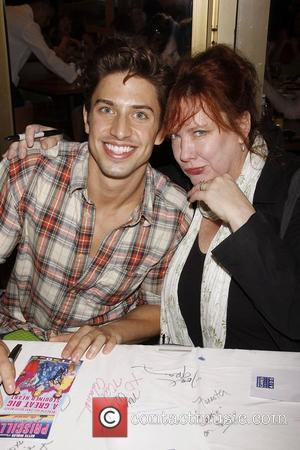 Nick Adams and Kathy Fitzgerald  The 25th Annual Broadway Flea Market and Grand Auction to benefit Broadway Cares/Equity Fights...