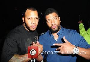 Deray Davis and Flo Rida